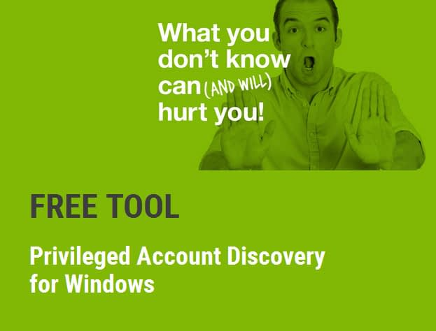 Privileged Account Discovery