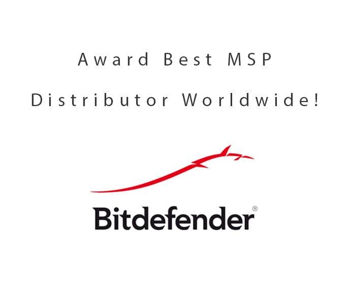 DCC beste distributeur MSP's Bitdefender